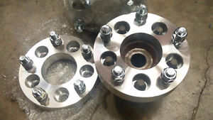 "Wheel adapters 5 on 4.5"" to 5 on 5"""