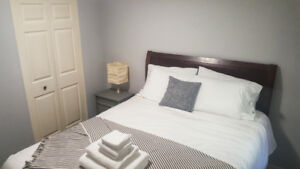 Short Term Rental Suite - Fully Furnished 1 or 2 Bedroom