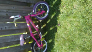 Girls bmx with pegs
