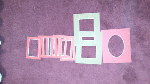 Pre-Cut Picture Frame Matting - Lot of 10