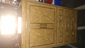 Armoire and end tables $150 OBO