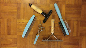 Dog Grooming Supplies - Mint condition!