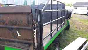 Very well built flat bed for a 1 ton truck London Ontario image 5