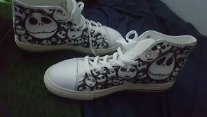 Jack Skellington perfect condition/unworn rare shoes
