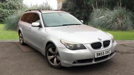 BMW 525 2.5TD auto 2006MY d SE Touring Silver