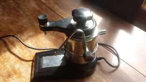 Vintage Italian Made Electric Espresso Maker