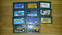 Game Boy Advance SP games - various