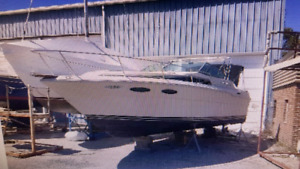 1986 sea ray 300 sundancer 7500 cash firm