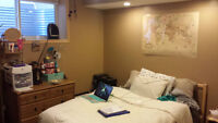 All incl Furnished upstairs bedroom with spa amenities