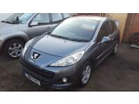2011 11 Peugeot 207 1.4 16v Sportium 3 door Satnav model privacy glass