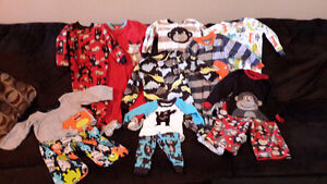 boys 24 month carters sleepers like new
