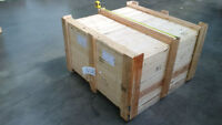 HEATED TREATED CRATE SHIPPING CRATE PALLETS