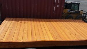 10x20 YELLOW CEDAR DOCK