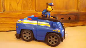 Paw Patrol Chase and car