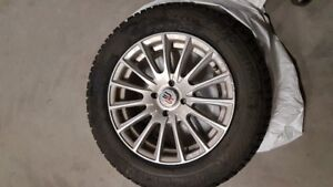 Winter tires with mags / pneus d'hiver avec mags