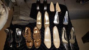 Assortment of Women's Shoes (Majority Nine West)