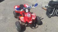 NEW KIDS ATV PROFESSIONALLY WIDENED WITH ENGINE MODS