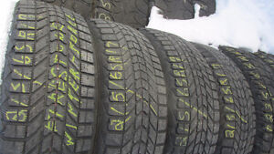 Two 215/65R17 Tires. Firestone Winter-Force