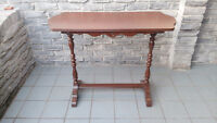 ANTIQUE SOLID WOOD HALLWAY CONSOLE TABLE