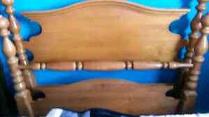 Antique bed frame fits double bed Kitchener / Waterloo Kitchener Area image 1