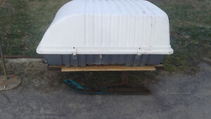 custom made carry all lockable skiboose/trailer
