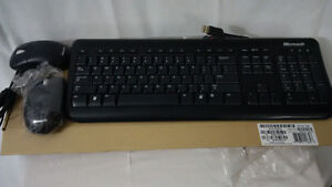 Microsoft USB soft touch keyboard with 2 USB mouse included