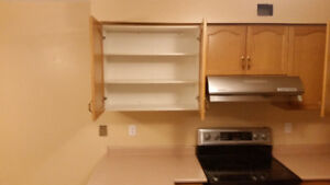 Used Kitchen, hood fan, sink and faucets, countertops