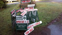real estate signs for sale