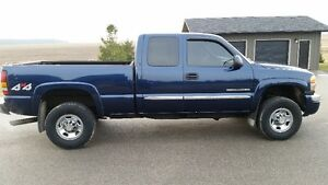 2007 GMC 2500HD SLE 4X4 Extended Cab