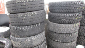 """Lots of LT225/75R16"""" Tires. $40. to $60. each"""