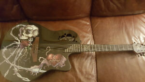 OVATION GUITAR DEMENTED SERIES BONE DADDY D.J.ASHBA
