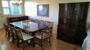 Drexel (New Travis Court & J.B.Van Sciver Co) Dining Room Set