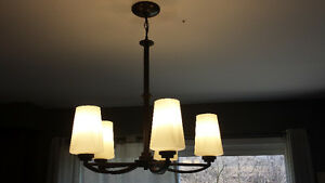 5 light Chandelier. Excellent condition  $20.00