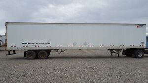 Several 48' and 53' dry van trailers for sale