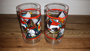 1995 Coca-Cola Polar Bears Winter Sports glasses