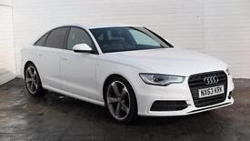 2013 Audi A6 2013 63 Audi A6 2.0 TDI S Line Black Edition Diesel white CVT