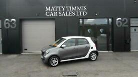 image for 2015 15 SMART FORFOUR 1.0 PASSION 5D 71 BHP,45.900 MILES,FSH,£0 ROAD TAX,A