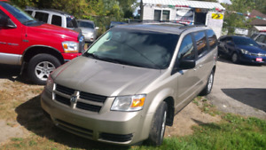 08 dodge grand caravan stow n go safety+3month warranty* inc