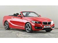 2019 BMW 2 Series 218i Sport 2dr [Nav] Step Auto Sports petrol Automatic