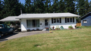 Great rancher with walkout suite Salmon Arm