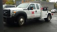 tow truck driver with experience flat bed&weel lift