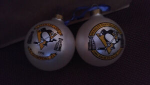 Pittsburgh Penguin-1991/92 Stanley Cup-Christmas Tree Decor.-$15