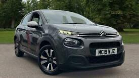image for 2019 Citroen C3 1.2 PureTech Feel (s/s) 5dr Hatchback Petrol Manual