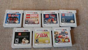Nintendo 3 DS games