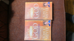 Joyce Meyer book and study guide.
