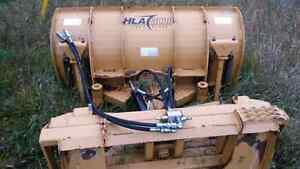 5 foot heavy duty hydrolic blade for skid steer or tractor