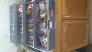 Tackle box for sale.