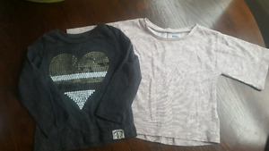 Girl's 24 month shirts