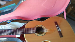vintage classical guitar