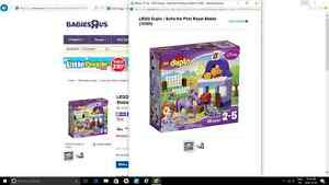 lego duplo sofia the first royal stable new